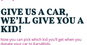 Kars4Kids' April Fool's Gag: Give Us a Car, We'll Give You a Kid