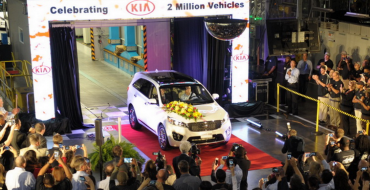 Kia Celebrates Producing Two Million Cars in the US