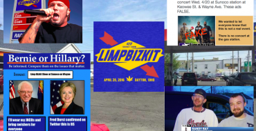 So is Limp Bizkit Going to Play a Show at the Sunoco in Dayton Tonight, Or What?