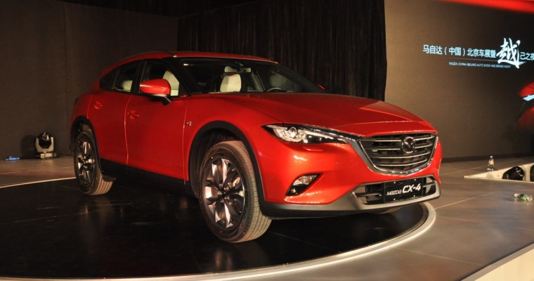 Mazda Unveils China-Exclusive CX-4 Crossover at Beijing Auto Show