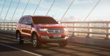 Ford Sets Aside $170 Million USD for South African Everest, Ranger Production