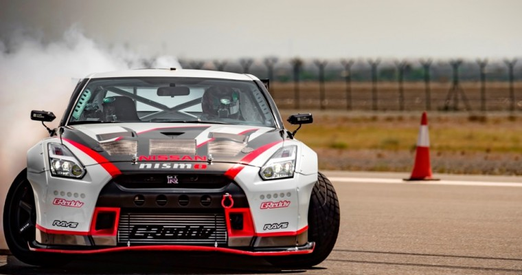 Nissan GT-R Shatters Drifting Record