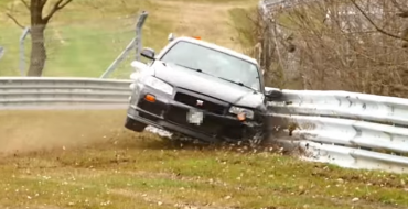 [VIDEOS] R34 Nissan Skyline GT-R Is the Latest Sports Car to Crash at Nürburgring