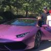 Rob Kardashian Buys Purple Lamborghini Huracán for New Fiancé