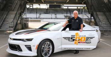 [PHOTOS] Roger Penske to Drive Camaro SS Pace Car at 100th Indy 500