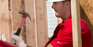 Marcus Mariota and Mark Ingram Help Nissan Build New Habit for Humanity Home in Nashville