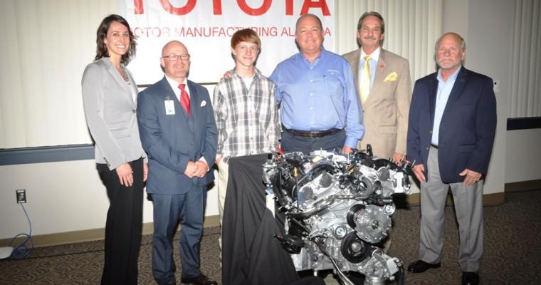 Toyota Donates 45 Engines to Alabama Students in Automotive Programs