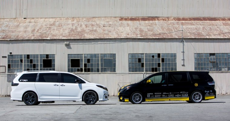 Toyota Sienna Concepts to Compete in One Lap of America