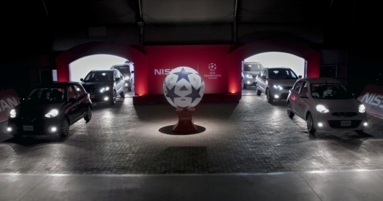 Nissan Cars Take Soccer To The Next Level