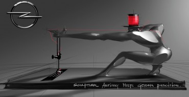 Opel Announces Two Sewing Machines, One of Which is a Buff Dude With No Clothes On