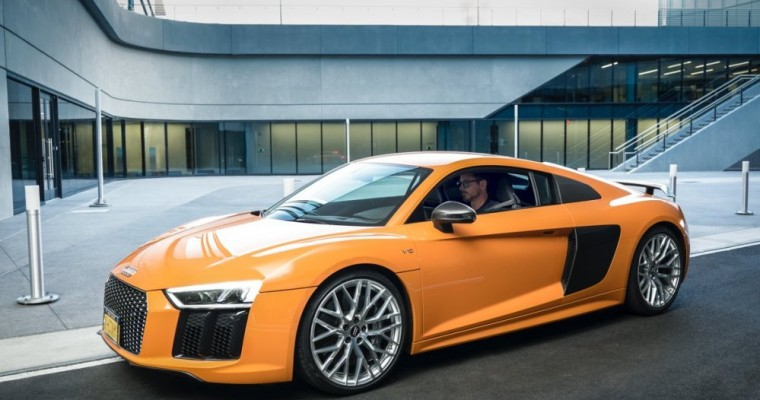 Audi and Captain America Partner for New Movie