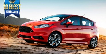 Ford Fiesta Once Again Named One of KBB's 10 Coolest New Cars