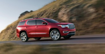 GMC Posts 1% Overall Sales Gain in January; Acadia Up 65%