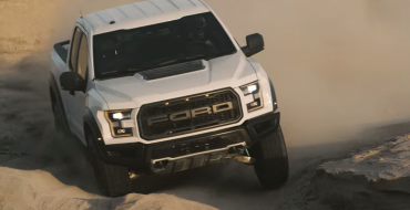 New Video Shows the 2017 Ford F-150 Raptor Going Beast Mode in the Desert