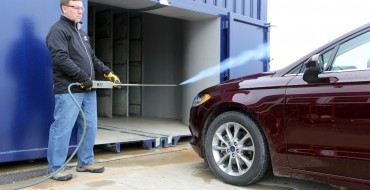 Ford Now Tests Vehicles in World's First Mobile Wind Tunnel