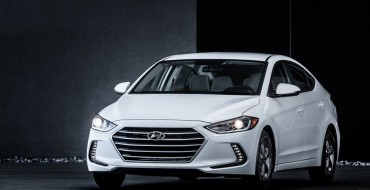 Hyundai Announces $21,485 Price Tag for 2017 Elantra Eco