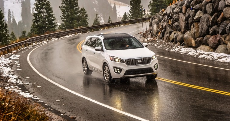 2017 Kia Sorento Named IIHS Top Safety Pick+