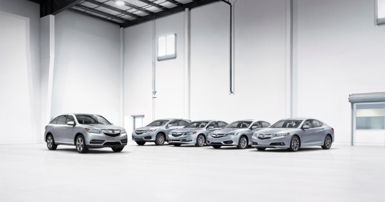 Acura Named Best Luxury Brand in Edmunds.com's Best Retained Value Awards