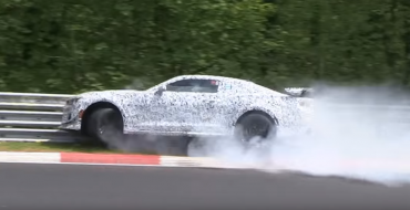 [VIDEO] New Camaro Z/28 Prototype Crashes into Wall at Nürburgring