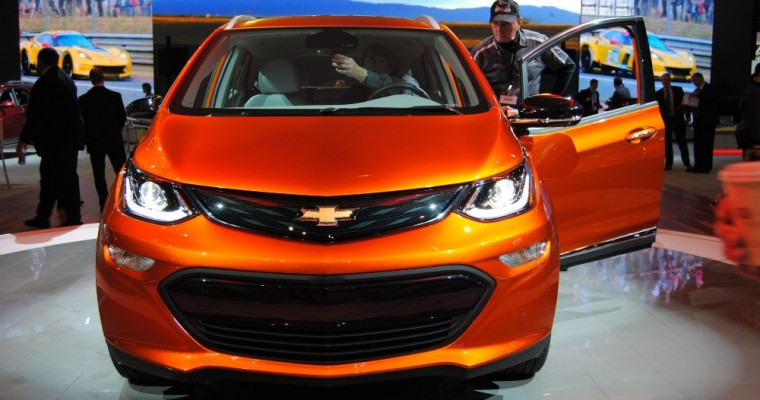 Chevy Bolt to Use Over-The-Air Software Updates