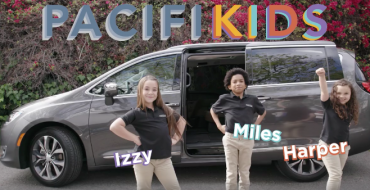 Chrysler PacifiKids Ad Campaign Promotes 2017 Pacifica Minivan