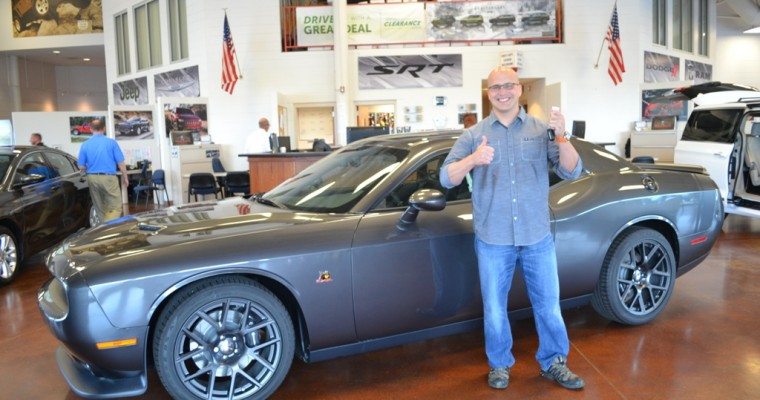 FCA National Vehicle Giveaway Gives Chicago Firefighter New Dodge Challenger