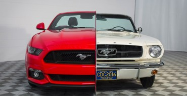 Composite 1965/2015 Mustang Debuts at National Inventors Hall of Fame Museum