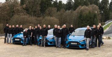Ford Focus RS Named 2016 Vehicle Dynamics International Car of the Year