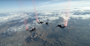 Two Wounded Veterans Go Skydiving in GMC's #enlistme 360 Video