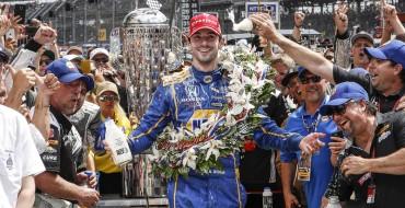 Honda, Rookie Racer Alexander Rossi Win 100th Indy 500