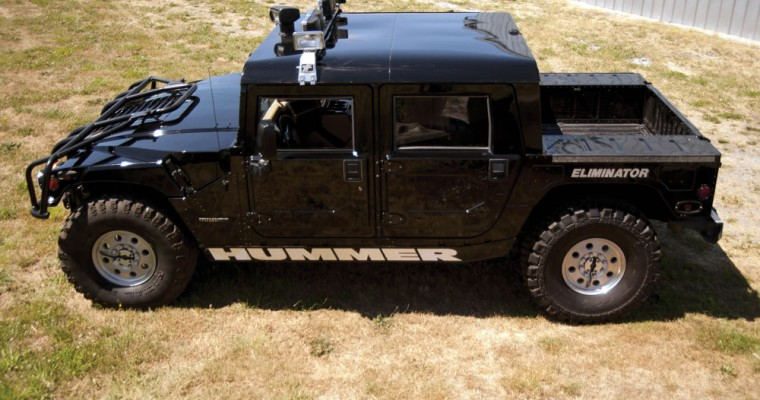 New GMC Electric Hummer Pickup Achieves 1,000 Horsepower