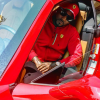 Atlanta Rap Star Jeezy Shows Off New Red Ferrari