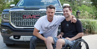 GMC Partners with Josh Duhamel to Provide Smart Homes for Injured Service Members