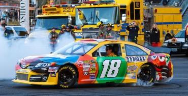 NASCAR Recap: Toyota Driver Kyle Busch Nabs Win at Kansas Speedway