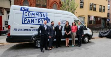 Ford Donates Transit Van to New York Common Pantry