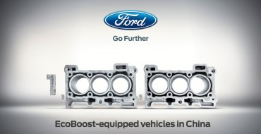 Ford EcoBoost Sales in China Hit 1 Million Milestone