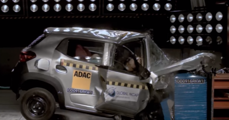 [VIDEOS] These Crash Tests of India's Cars Are Catastrophic Failures