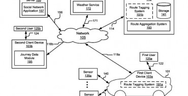 Toyota Files for Patent to Tag Driving Routes