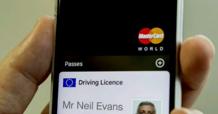 UK Apple iPhone Wallet App Prototype Includes Driver's License