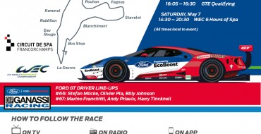 No. 66, 67 Ford GTs Set for Spa Before Chasing Le Mans Glory