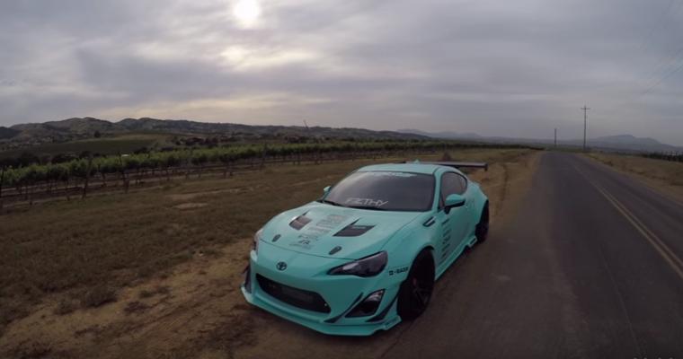 [VIDEO] Driving a Tiffany-Blue Rocket Bunny Scion FR-S