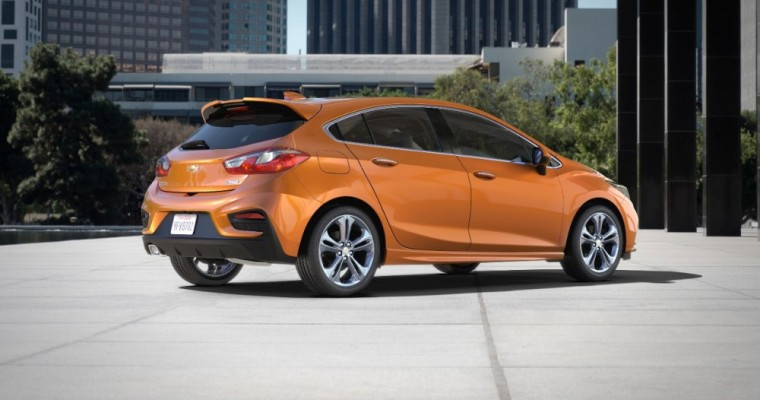 Chevy Cruze Hatchback Diesel to Arrive for 2018 Model Year