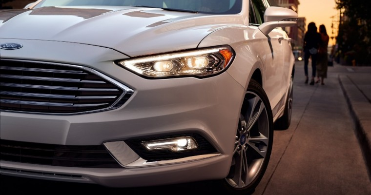 2017 Ford Fusion Earns IIHS TOP SAFETY PICK+