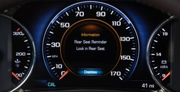 GM Announces 17 New 2017-18 Vehicles Available with Rear Seat Reminder Technology