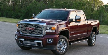The 2017 GMC Sierra Denali 2500HD Looks Awfully Powerful [PHOTOS]