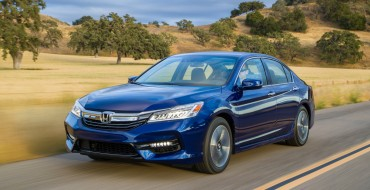 2017 Honda Accord EPA-Rated as Market's Most Fuel-Efficient Midsize Hybrid Sedan