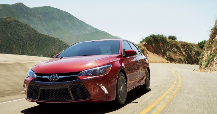 2018 Toyota Camry TRD is Spied and Sporty