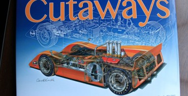 'David Kimble's Cutaways' Book Review: A Legacy of Stunning Automotive Artwork