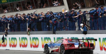 History Repeats Itself: Ford Wins at Le Mans, Beats Ferrari