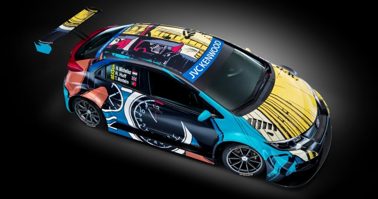 Honda Civic WTCC Art Car to Feature Jean Graton Design at Goodwood